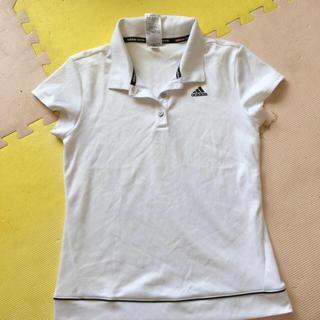 アディダス(adidas)のアディダス テニスウェア レディース 黒白 運動 涼しい(Tシャツ(半袖/袖なし))