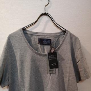ダブルジェーケー(wjk)のwjk無地Tシャツ2枚セット。(Tシャツ/カットソー(半袖/袖なし))