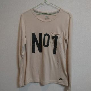 ナイキ(NIKE)のNIKEのレディース長袖Tシャツ(Tシャツ(長袖/七分))