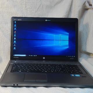 ヒューレットパッカード(HP)のHP ProBook 4740s 17インチ金属ボディー(ノートPC)