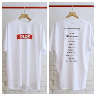 イズネス(is-ness)の1LDK × is-ness ✳︎ 10LDK Tシャツ M(Tシャツ/カットソー(半袖/袖なし))