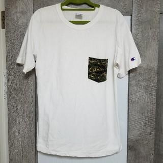 チャンピオン(Champion)のChampionTシャツ☆中古品(Tシャツ/カットソー(半袖/袖なし))