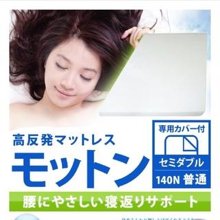 「ゆみさん専用」モットン マットレス セミダブル 腰痛対策(セミダブルベッド)