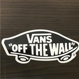 VANS - 【縦8cm横15cm】VANS ロゴ ステッカー