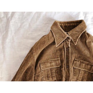 コーデュロイのシャツジャケット(シャツ/ブラウス(長袖/七分))