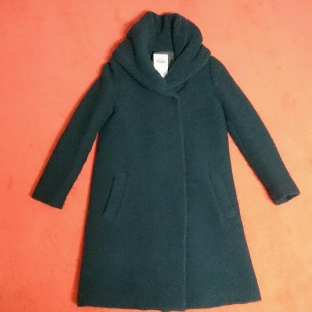Noble(ノーブル)の最終価格❤Noble コート レディースのジャケット/アウター(ロングコート)の商品写真