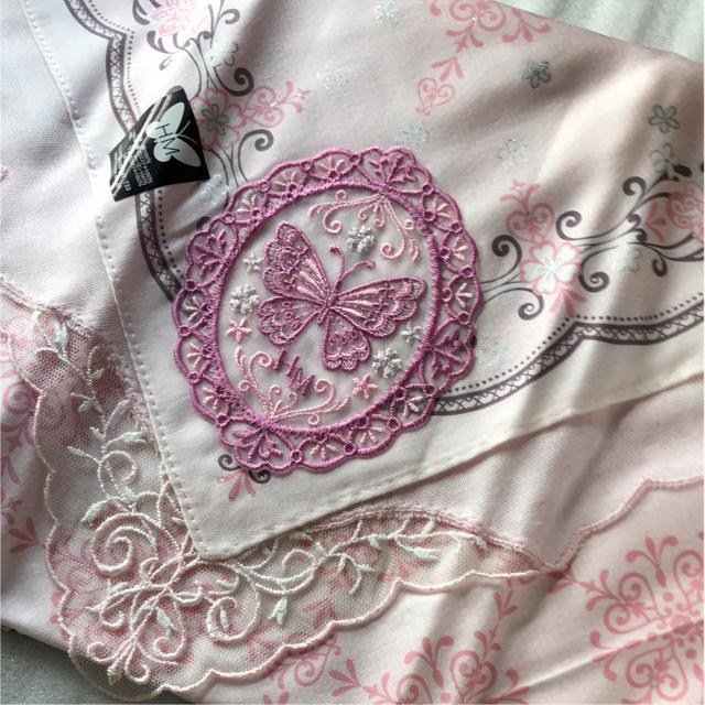 HANAE MORI(ハナエモリ)のハナエモリ HM 森英恵   ハンカチ  2枚組 レディースのファッション小物(ハンカチ)の商品写真