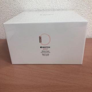 アップルウォッチ(Apple Watch)の新品Apple watch series 3 38mm GPS+Celluar(スマートフォン本体)