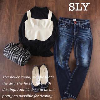 スライ(SLY)の【新品】SLYビスチェ♡(Tシャツ(半袖/袖なし))