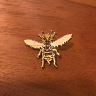 上野 国立科学博物館 特別展 昆虫の会場限定 ピンバッチ 蜂(バッジ/ピンバッジ)