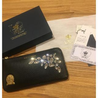 エーディーエムジェイ(A.D.M.J.)のADMJ スワロフスキーウォレット 財布(財布)