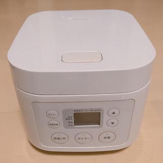 ムジルシリョウヒン(MUJI (無印良品))の【無印良品】炊飯器 ECJ-MJ32(炊飯器)