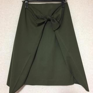 ストラ(Stola.)のStora.(ストラ) 巻きスカート(ひざ丈スカート)