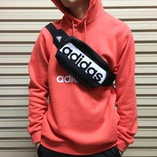 アディダス(adidas)の大人気★adidas 男女兼用 ウエストバッグ★ボディバッグ 迅速発送(ボディーバッグ)