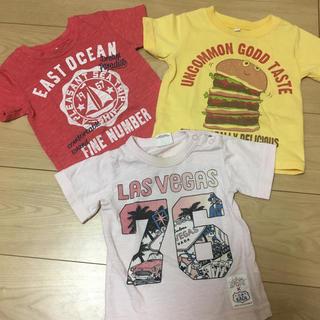 ジャンクストアー(JUNK STORE)のTシャツ 80センチ 3枚セット(Tシャツ)