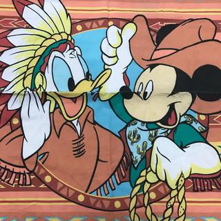 Disney - ミッキードナルド    インディアン柄ピロー