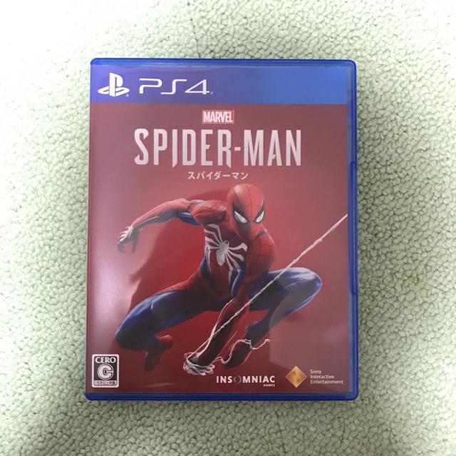 PlayStation4(プレイステーション4)のスパイダーマン PS4 Marvel's Spider-Man ★中古美品★ エンタメ/ホビーのテレビゲーム(家庭用ゲームソフト)の商品写真