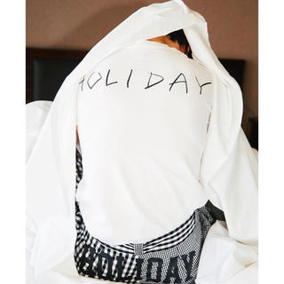 ホリデイ(holiday)のmizuki様専用■HOLIDAY ホリディ■バックプリントTシャツ(Tシャツ(半袖/袖なし))