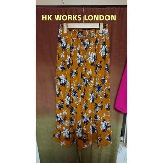 シマムラ(しまむら)の美品HK WORKS LONDON花柄スカート(ロングスカート)