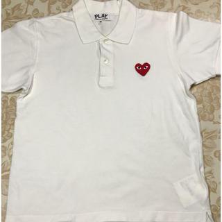 コムデギャルソン(COMME des GARCONS)の美品!PLAY コムデギャルソン★ポロシャツ(ポロシャツ)