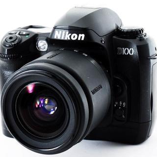 ★Nikonの本格一眼はコレ★ニコン D100 レンズセット(デジタル一眼)