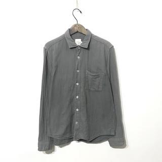 ヤエカ(YAECA)のRINEN[リネン]/オーガニックダブルガーゼ レギュラーカラーシャツ(シャツ)