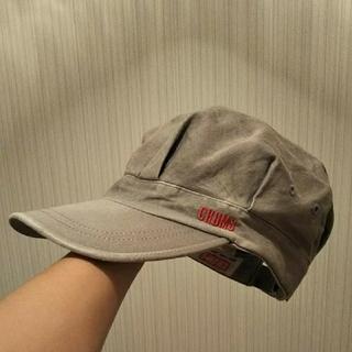 チャムス(CHUMS)の帽子(キャスケット)