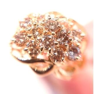 ピンクハート様専用です✨k18 K18 ブラウンダイヤモンド リング 10号(リング(指輪))