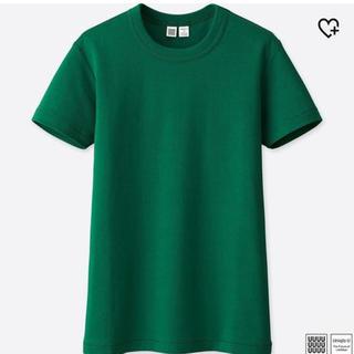 ユニクロ(UNIQLO)のUNIQLO クルーネックT 半袖(Tシャツ(半袖/袖なし))