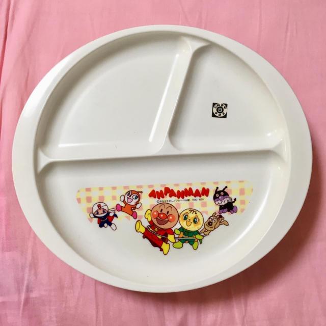 【新品】お子様用プレート 2枚セット アンパンマン キッズ/ベビー/マタニティの授乳/お食事用品(その他)の商品写真