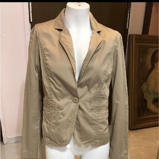 ジーユー(GU)のジャケット GU 綿100(テーラードジャケット)