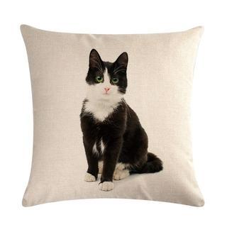 猫クッションカバー 43cm×43cm 八割れ♪ 新品未使用品 送料無料♪(猫)