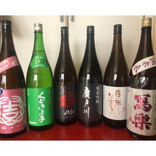 日本酒 1.8ℓ 6本セット