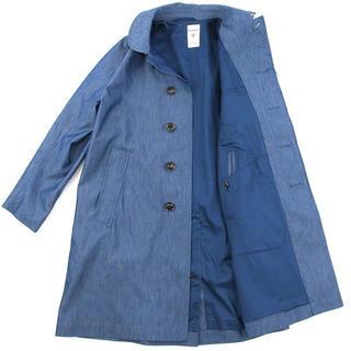 オーシバル(ORCIVAL)の【美品】orcival  コート  コットンナイロンシャンブレー  丸襟(スプリングコート)