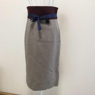 アクアスキュータム(AQUA SCUTUM)のアクアスキュータム スカート 美品(ロングスカート)