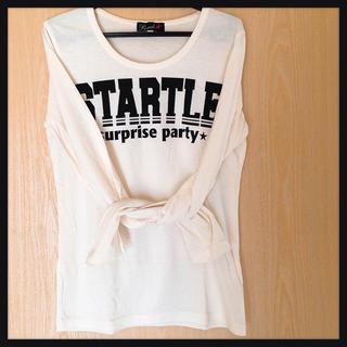 しまむら - 白い長袖Tシャツ