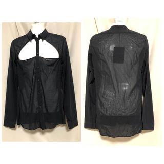 ニコラアンドレアタラリス(NICOLAS ANDREAS TARALIS)の定価61560円 ニコラアンドレアタラリス 変形シャツ フランス製 メンズ(シャツ)