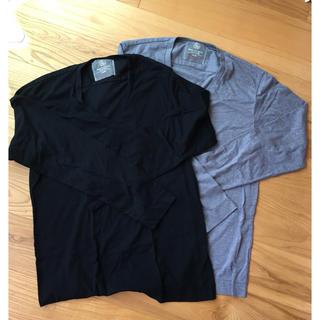 ビューティアンドユースユナイテッドアローズ(BEAUTY&YOUTH UNITED ARROWS)のユナイテッドアローズ XL vネック 二枚セット(Tシャツ/カットソー(七分/長袖))