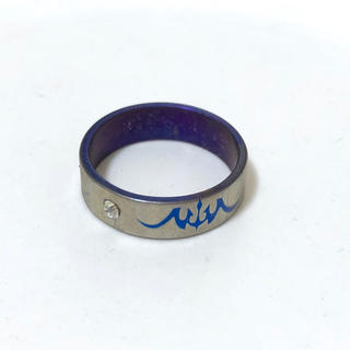 同時購入で300円 ステンレス指輪 ジルコニア(リング(指輪))