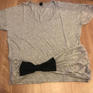 アビィ(avie)のavie リボンティーシャ(Tシャツ(半袖/袖なし))