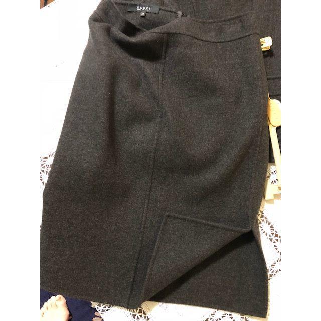 Gucci(グッチ)のyuukei-mama様専用gucci・ウール&カシミアJK(38)SK(40) レディースのレディース その他(セット/コーデ)の商品写真