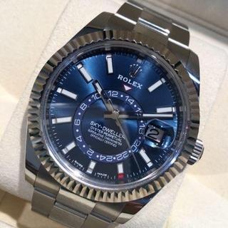 ロレックス(ROLEX)の【国内正規・新品未使用】ロレックス スカイドゥエラー326934 ブルー文字盤(腕時計(アナログ))
