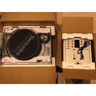 パナソニック(Panasonic)の※送料込※テクニクス 1200MK3Dターンテーブル&DX1200ミキサーセット(ターンテーブル)