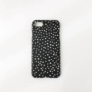 ドット・シンプル iPhone7. iPhone8ケース(スマホケース)