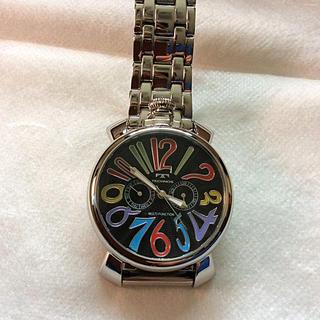 テクノス(TECHNOS)の美品‼️ TECHNOS(テクノス) GaGa MILANOデザインメンズ腕時計(腕時計(アナログ))