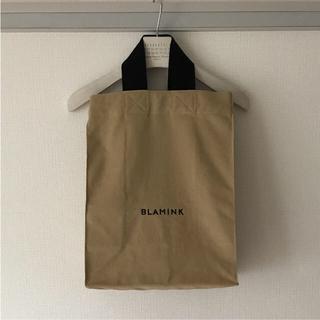 ドゥロワー(Drawer)の新品 BLAMINK ブラミンク トートバッグ ハンドバッグ ロゴ キャンバス(トートバッグ)
