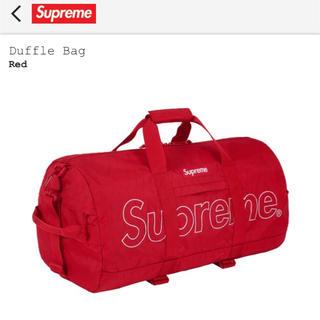 シュプリーム(Supreme)のSupreme ダッフルバッグ レッド(ドラムバッグ)