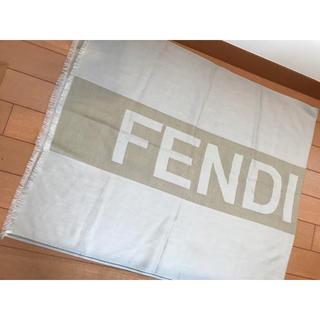 フェンディ(FENDI)のFENDI カシミヤシルク ストール(ストール/パシュミナ)