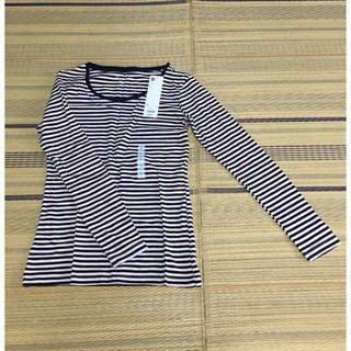 ジーユー(GU)の新品・タグ付✨GU 長袖Tシャツ(Tシャツ(長袖/七分))