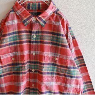 ポロラルフローレン(POLO RALPH LAUREN)のUS ポロ ラルフローレン pinkor オックスフォード シャツ XL(シャツ)